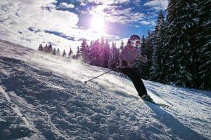 Narty w Alpach Francuskich/Szwajcarskich